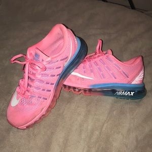 Nike Air Max - pink and blue